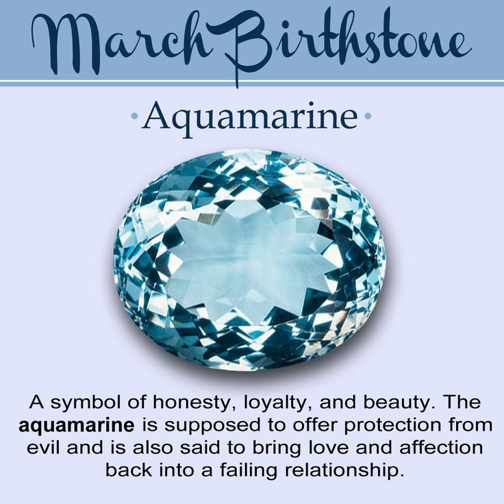 Birthstone For March Meaning Color And Jewelry