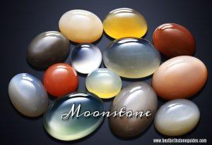 June birthstone - moonstone