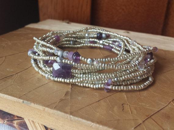 amethyst february birthstone bracelet