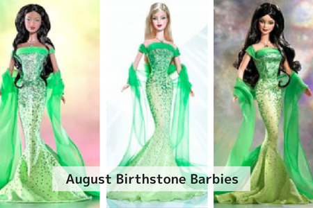 August Birthstone Barbie