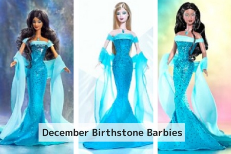 December Birthstone Barbie