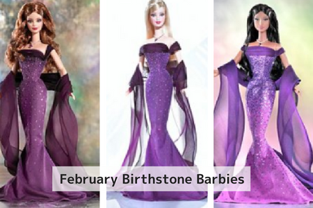 February Birthstone Barbie