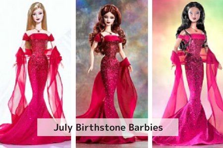 July Birthstone Barbie
