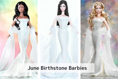 June Birthstone Barbie