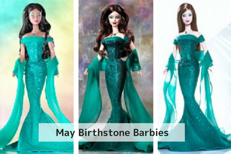 May Birthstone Barbie