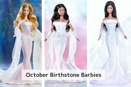 October Birthstone Barbie