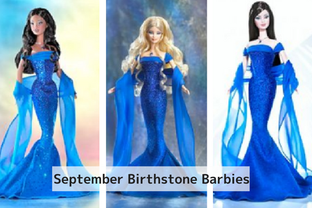 September Birthstone Barbie