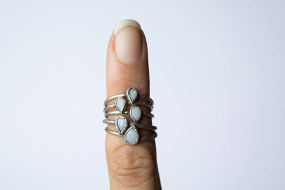 opal fire ring