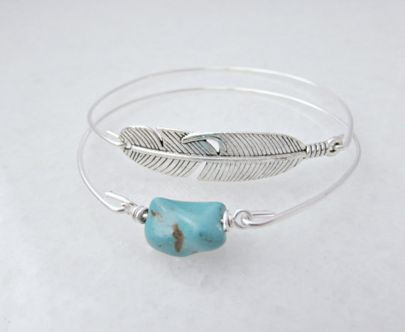 turquoise-bangle-feather