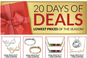 black friday deals birthstone jewelry